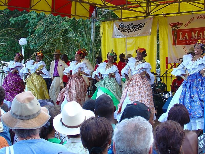 traditional Caribbean ballet in Martinique