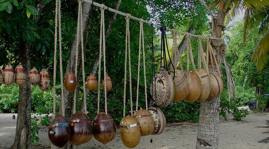 Artisans of calabash in Martinique, Patience
