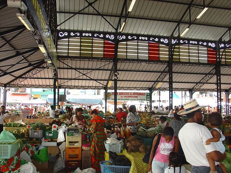 vegetable local market in Martinique