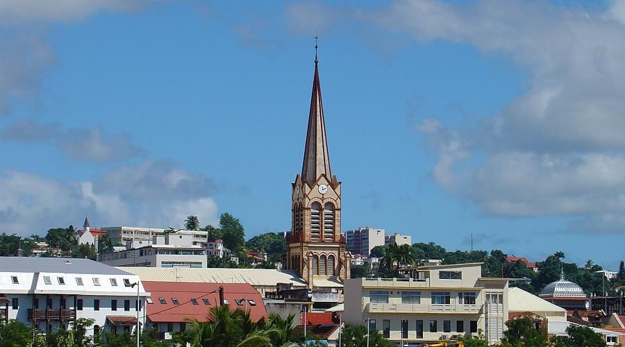 Fort de France capital of Martinique