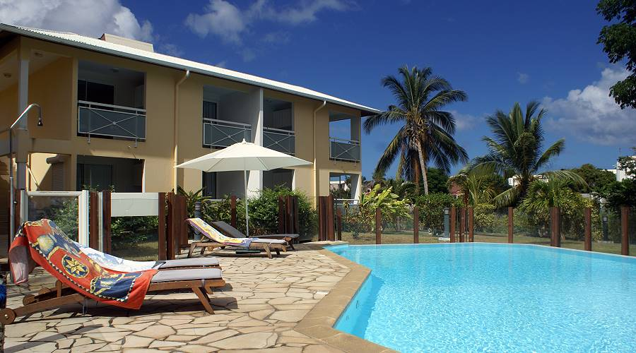 residence apartments les creolines in sainte luce martinique