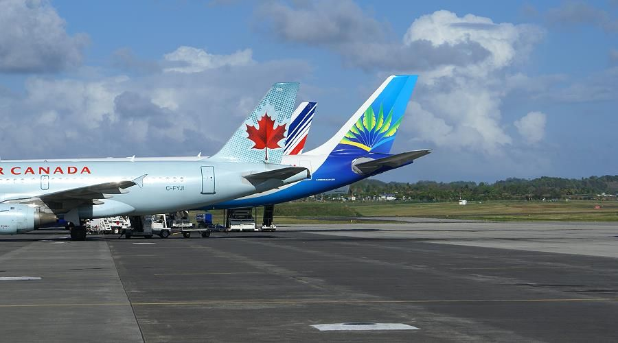 flights, tickets and companies to get Martinique