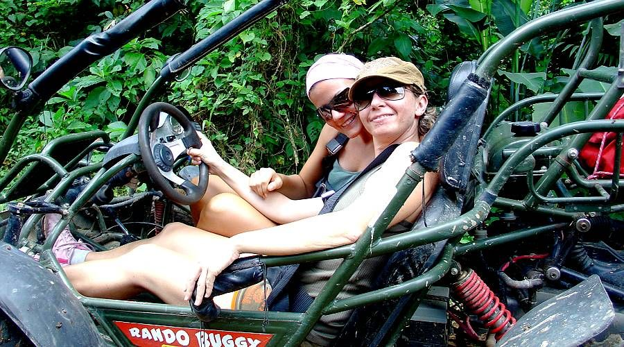 buggy excursions in the forest of northern Martinique