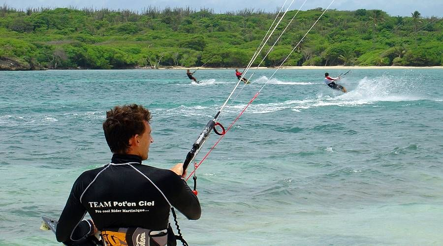 water sport and activities martinique