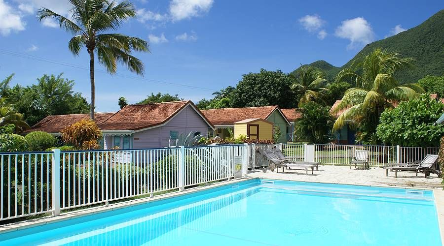 hotel anse bleue at Diamant south Martinique