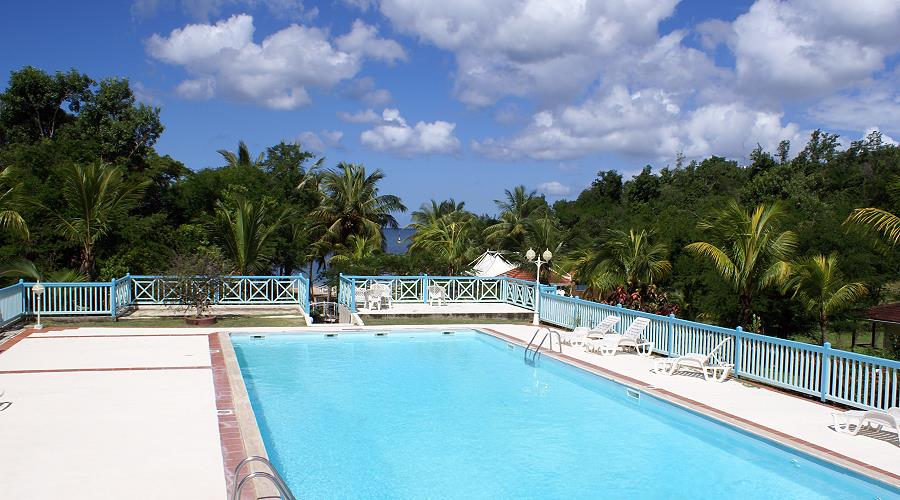 hotel Imperatrice Village in Trois Ilets south Martinique