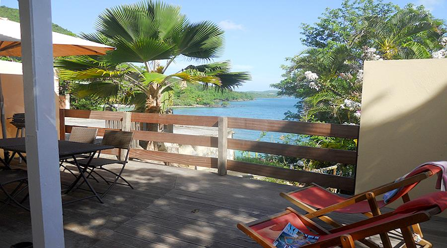 Seaside villa at Anse Figuier in south of Martinique