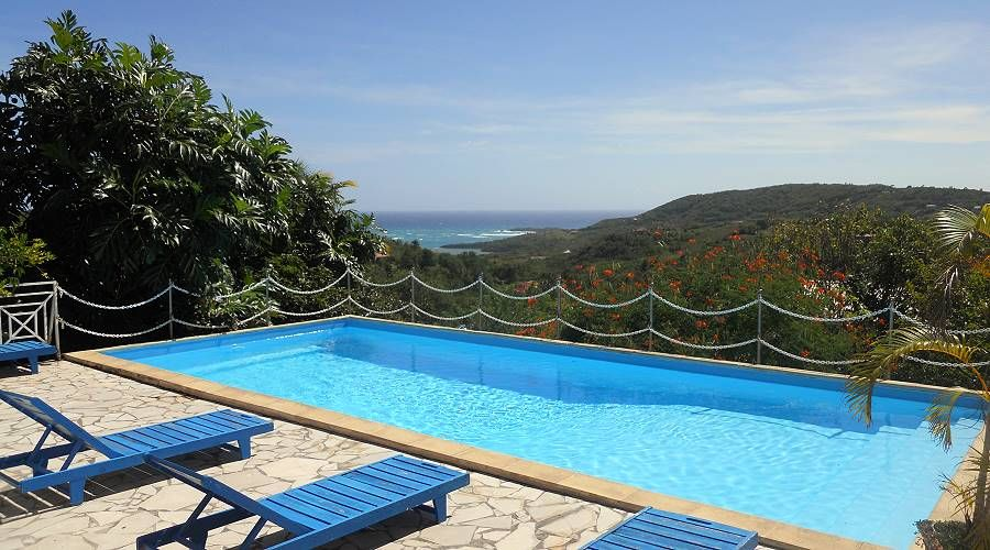 villa colibri near the beaches of sainte anne martinique