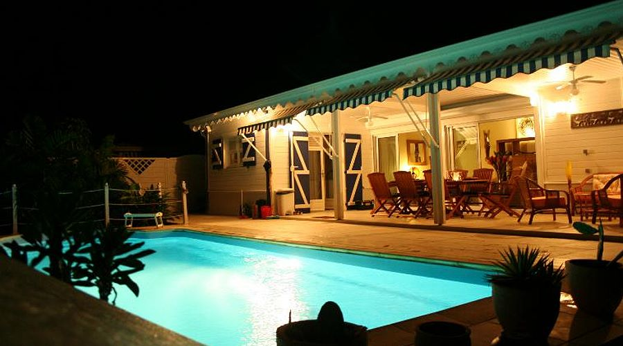 villa flamboyante with swimming-pool in le marin martinique